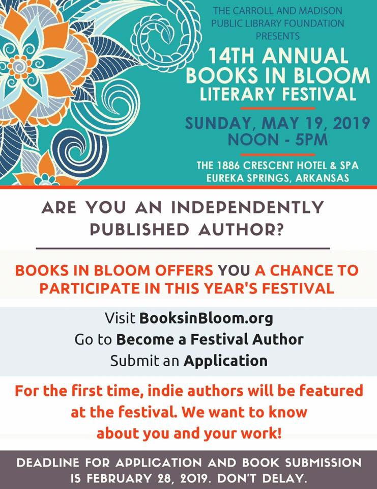 books in bloom 2019